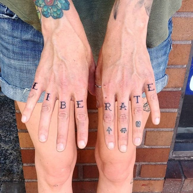 Knuckle Tattoo 101