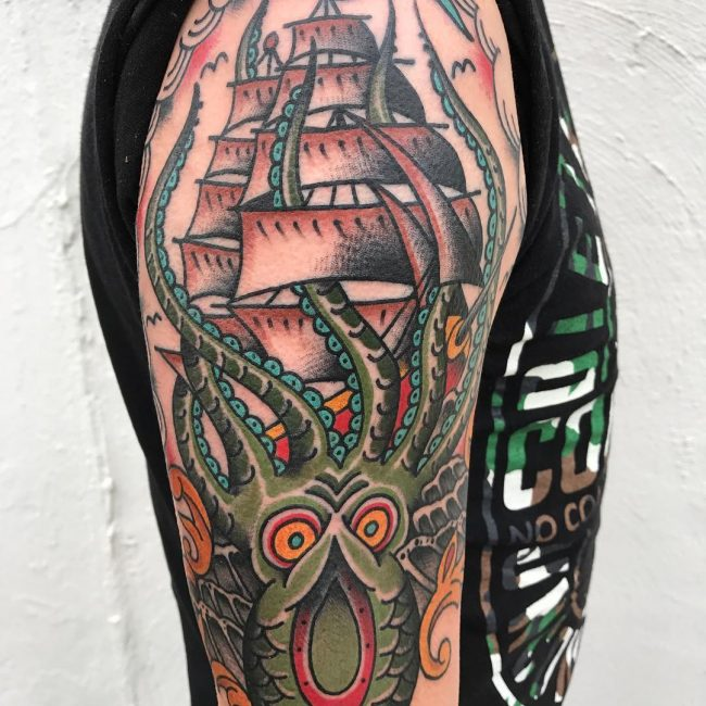Kraken Tattoo 61