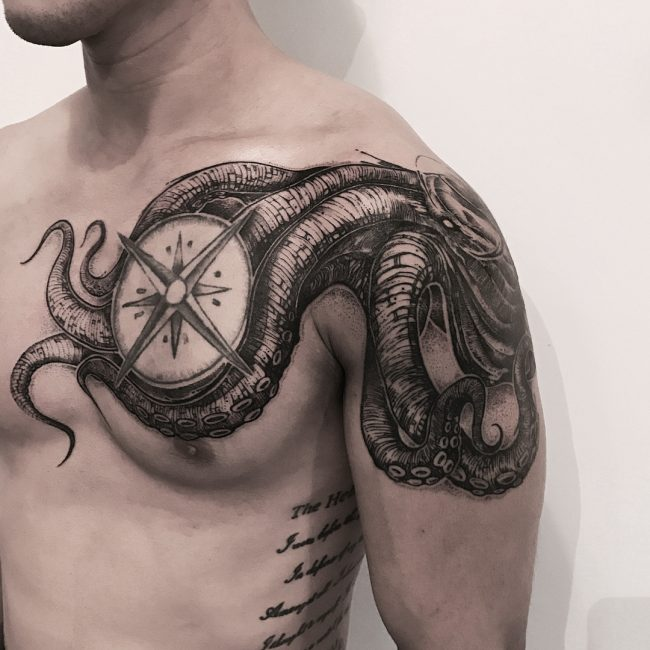 Kraken Tattoo 63