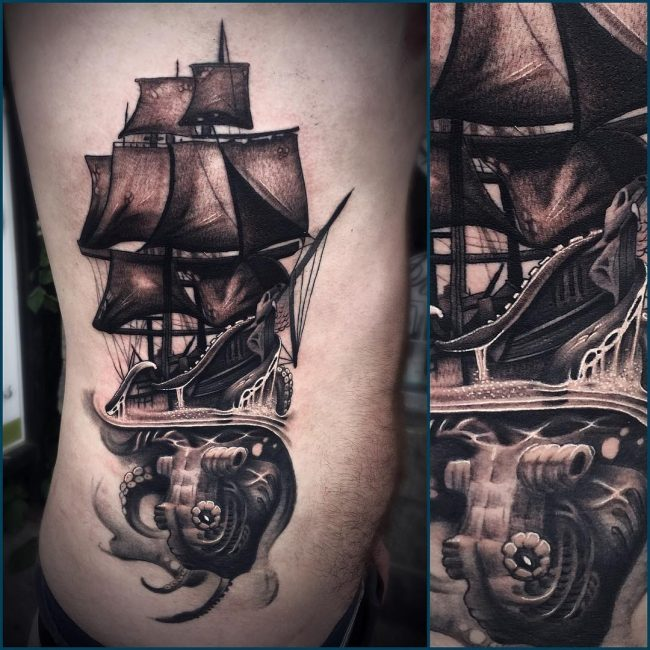Kraken Tattoo 67