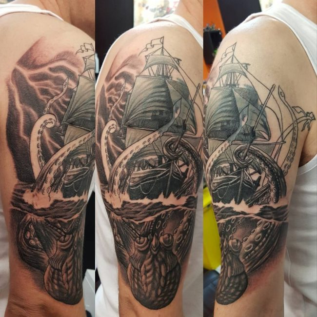 Kraken Tattoo 70
