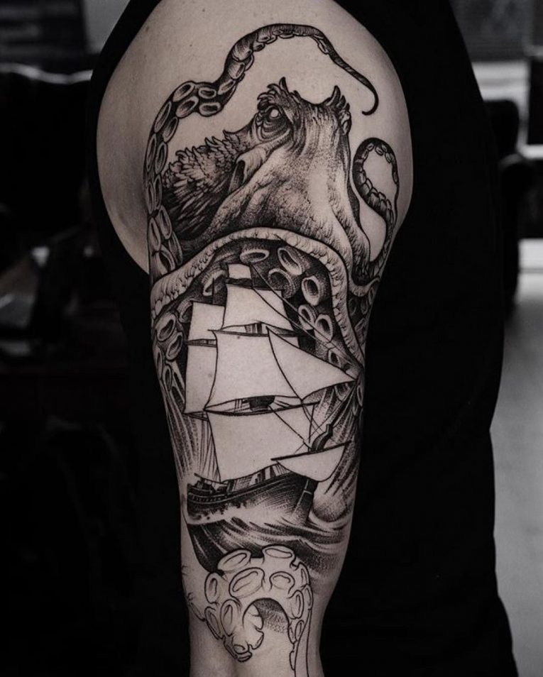 Kraken Tattoo 77