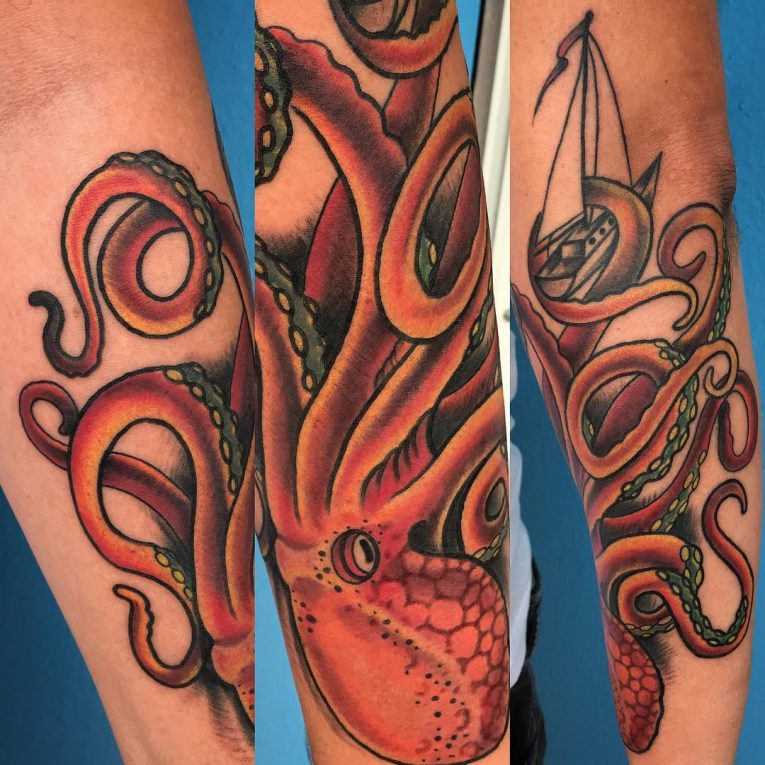 Kraken Tattoo 79