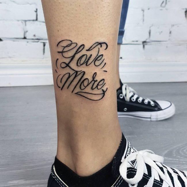 Lettering Tattoo 105