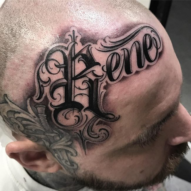 Lettering Tattoo 106
