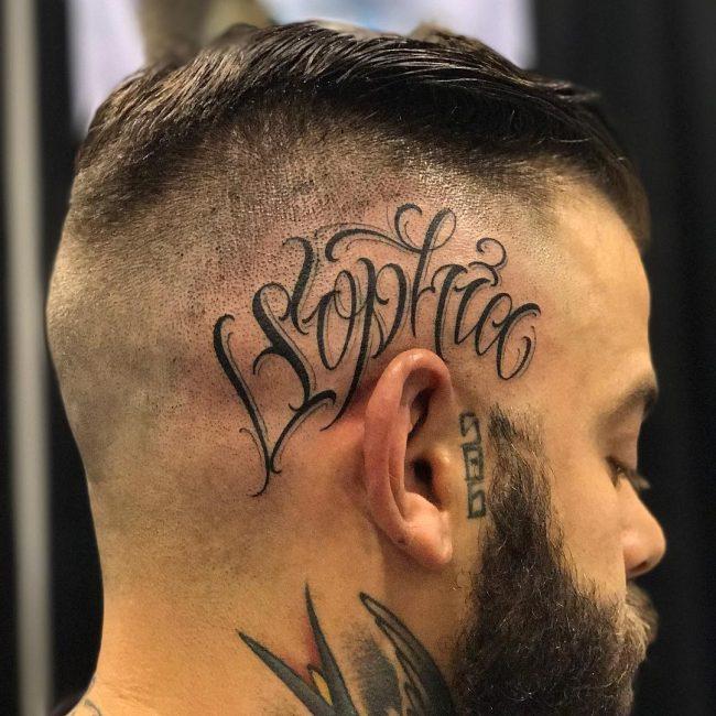 Lettering Tattoo 110