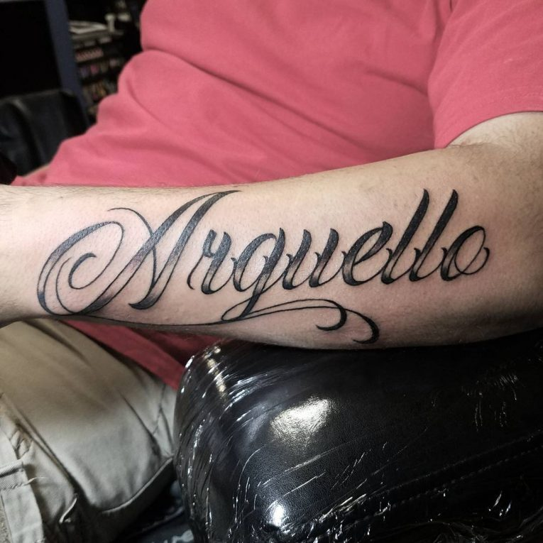 Lettering Tattoo 112