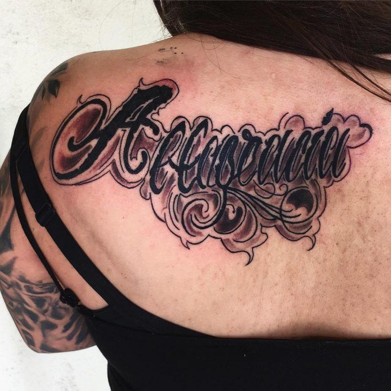 Lettering Tattoo 119
