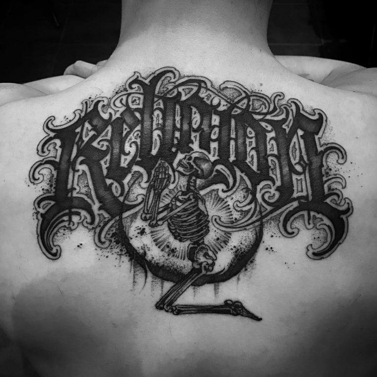 Lettering Tattoo 121