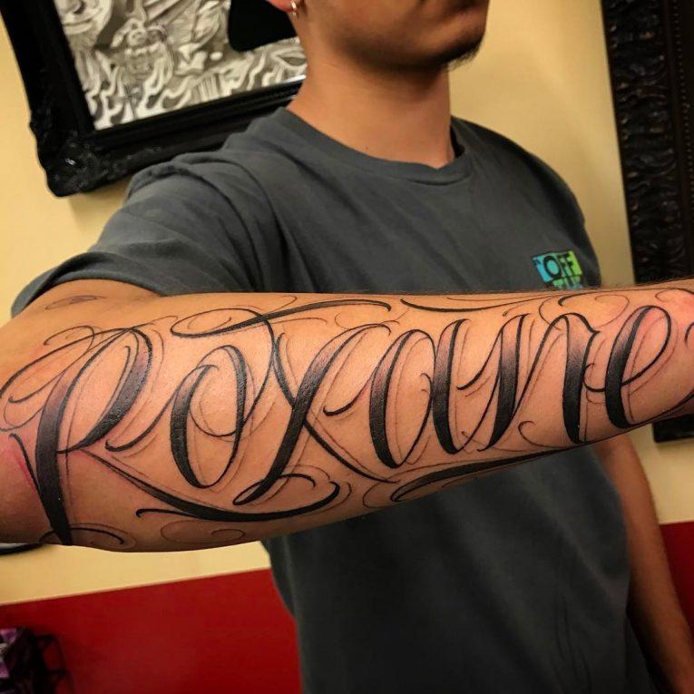 Lettering Tattoo 122