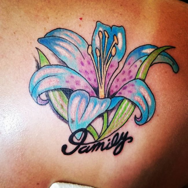 Lily Flower Tattoo 63