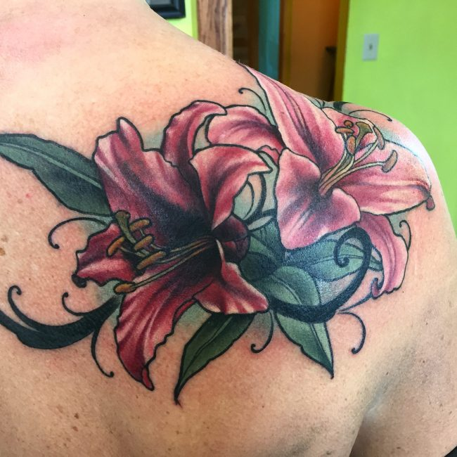 Lily Flower Tattoo 65