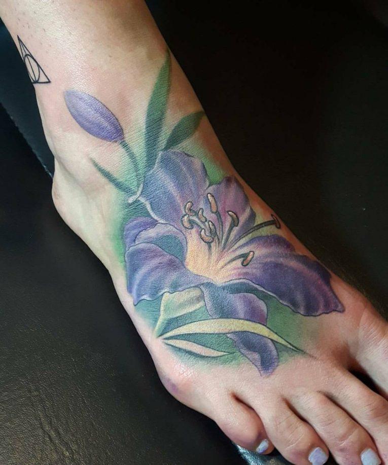 Lily Flower Tattoo 76