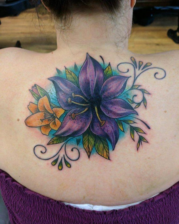 Lily Flower Tattoo 79