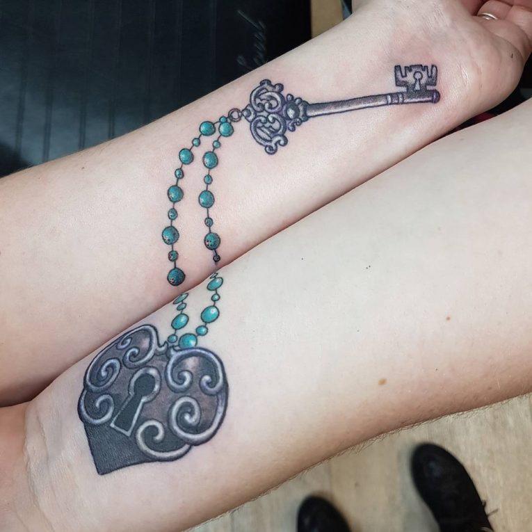 Lock and Key Tattoo 79