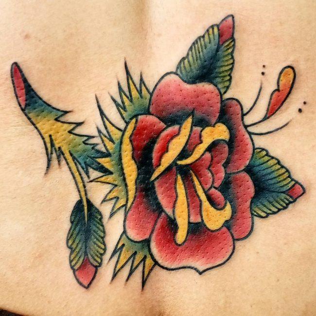 Lower Back Tattoo 69
