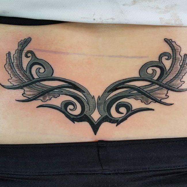 Lower Back Tattoo 70