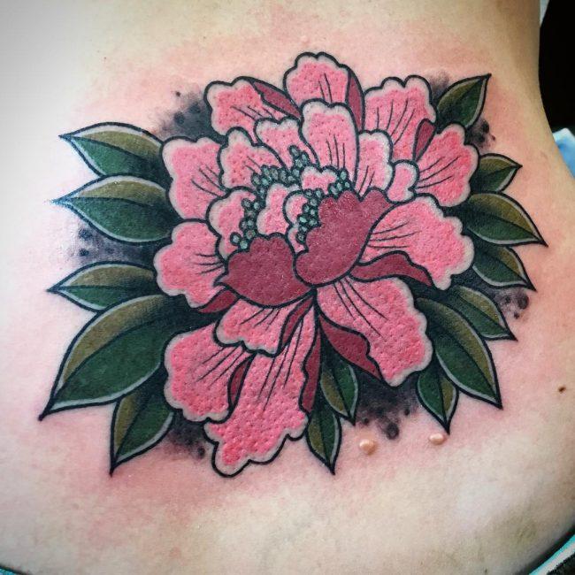 Lower Back Tattoo 74