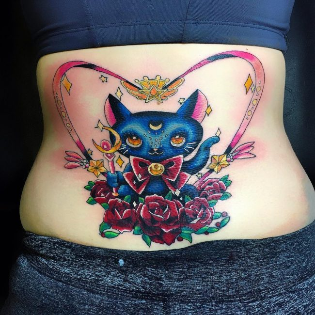 Lower Back Tattoo 75