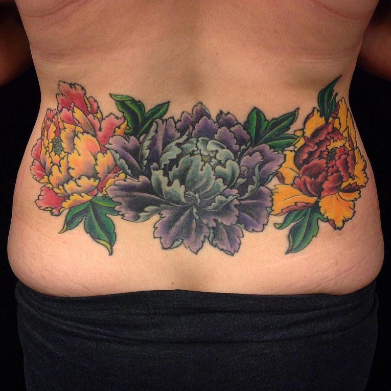 Lower Back Tattoo 77