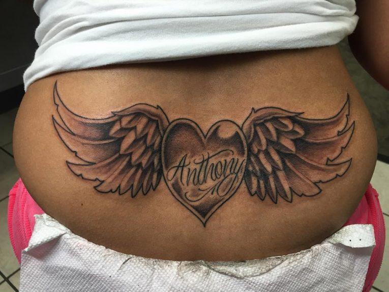 Lower Back Tattoo 81