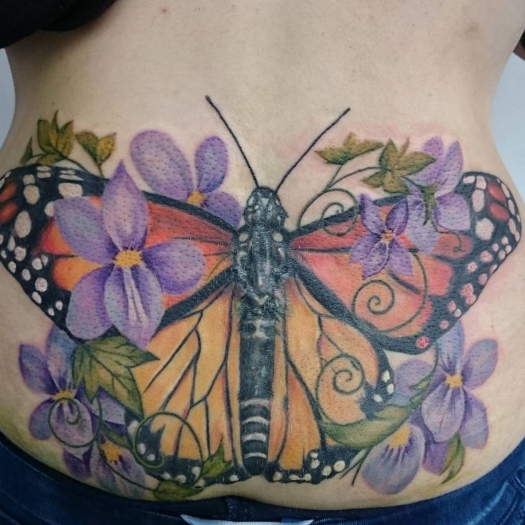 Lower Back Tattoo 83