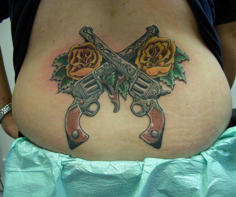 Lower Back Tattoo 84