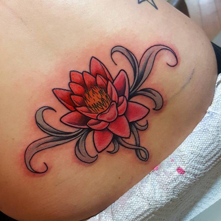 Lower Back Tattoo 86
