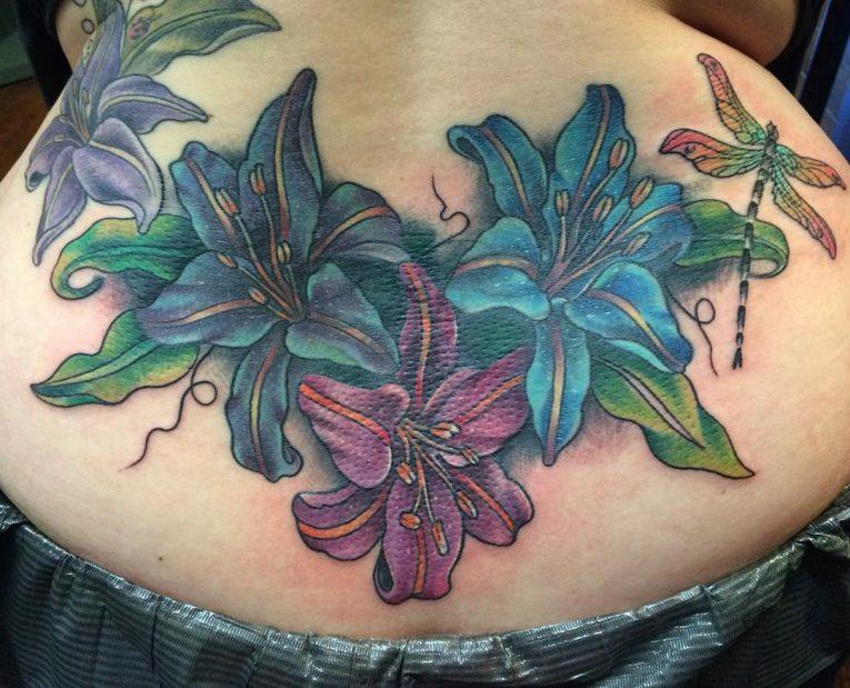 Lower Back Tattoo 87