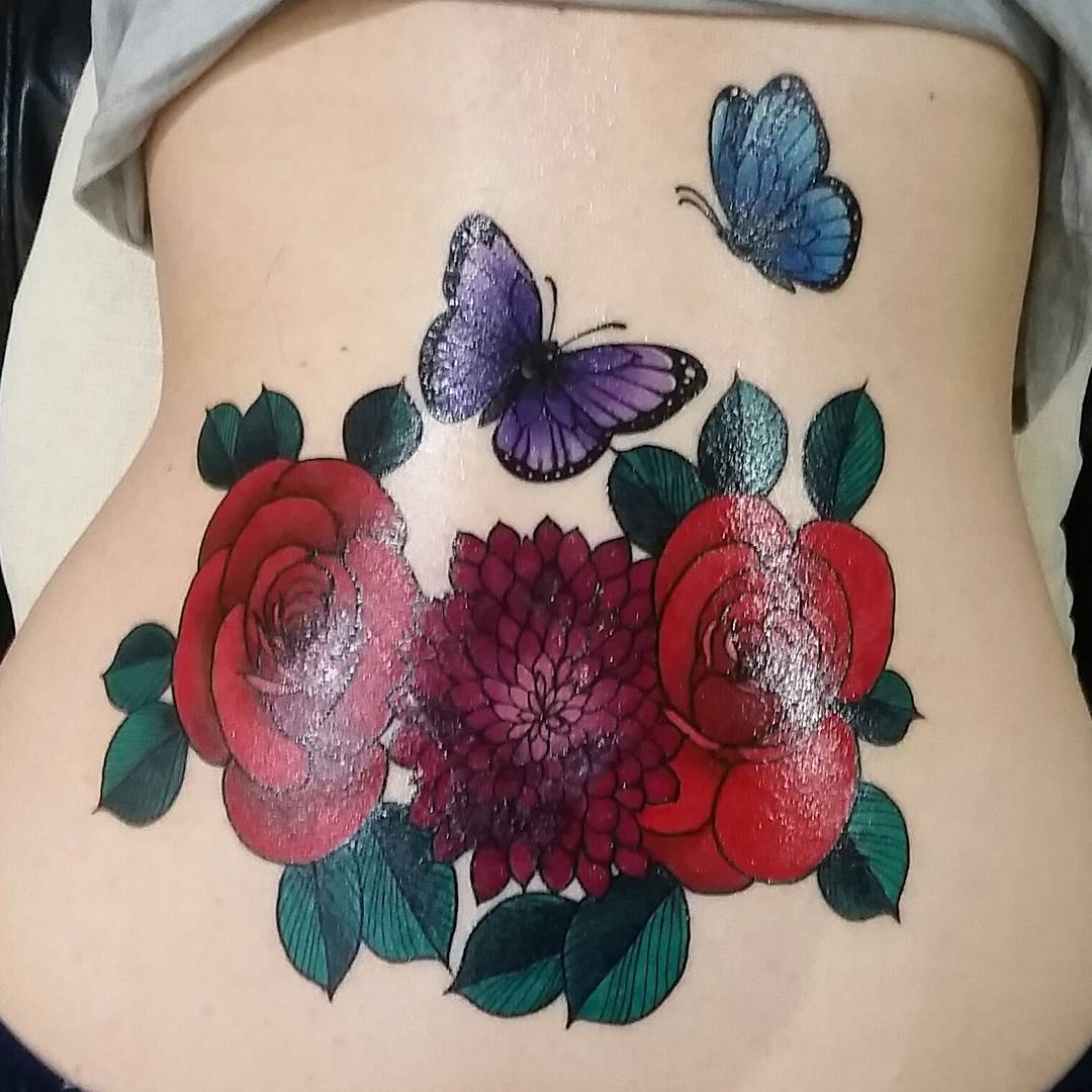Tattoo Designs Lower Back: 85+ Sexy Lower Back Tattoos Designs & Meanings