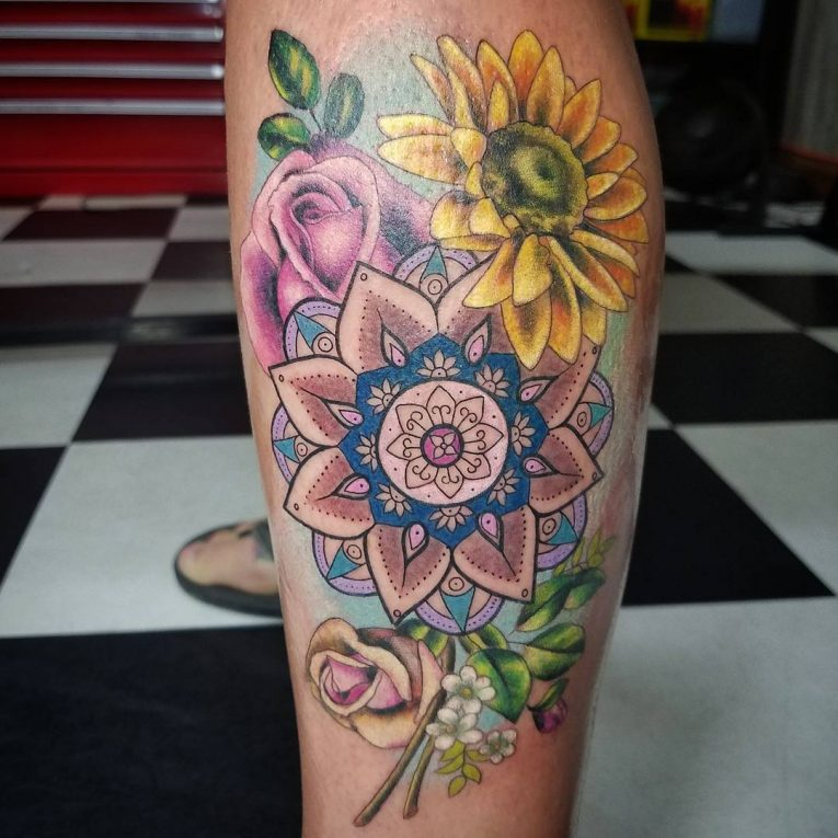 Mandala Tattoo 67