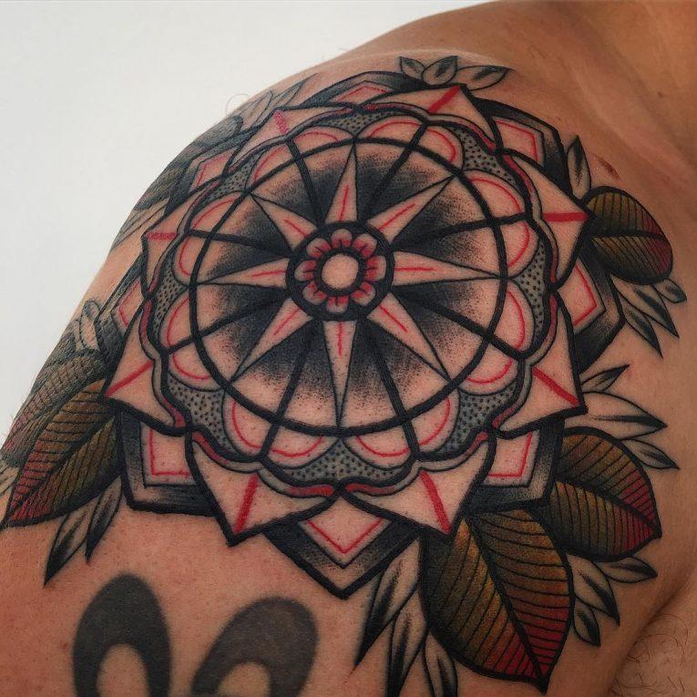 Mandala Tattoo 69
