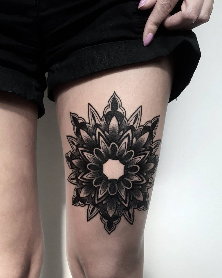 Mandala Tattoo 71