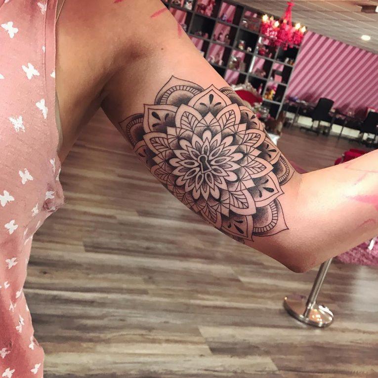 Mandala Tattoo 74
