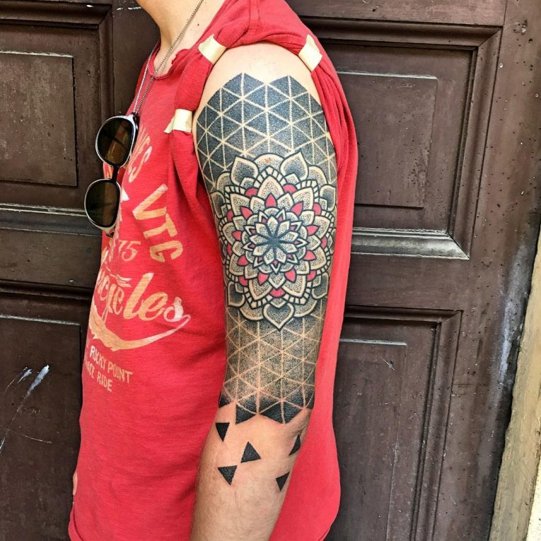 Mandala Tattoo 75