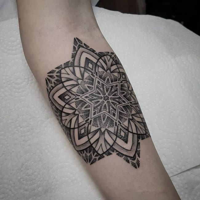 Mandala Tattoo_
