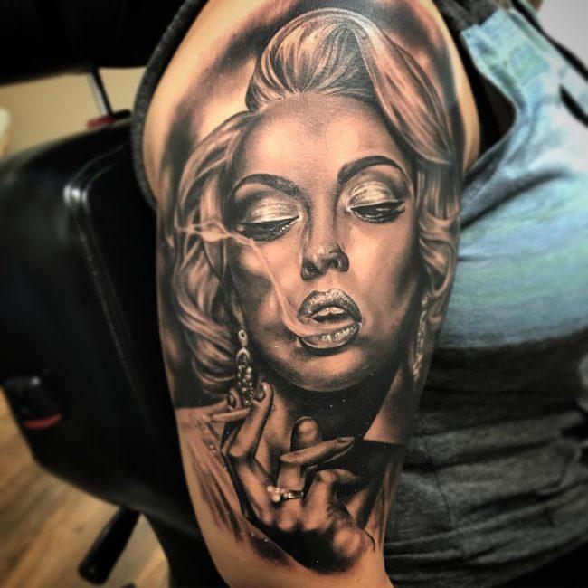 Marilyn Monroe Tattoo 51