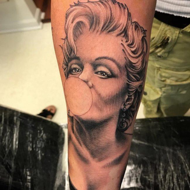 Marilyn Monroe Tattoo 53