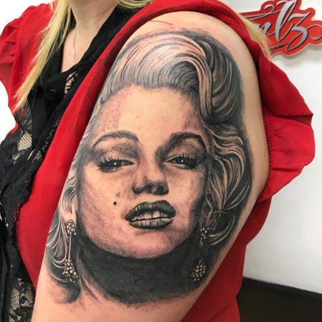 Marilyn Monroe Tattoo 54