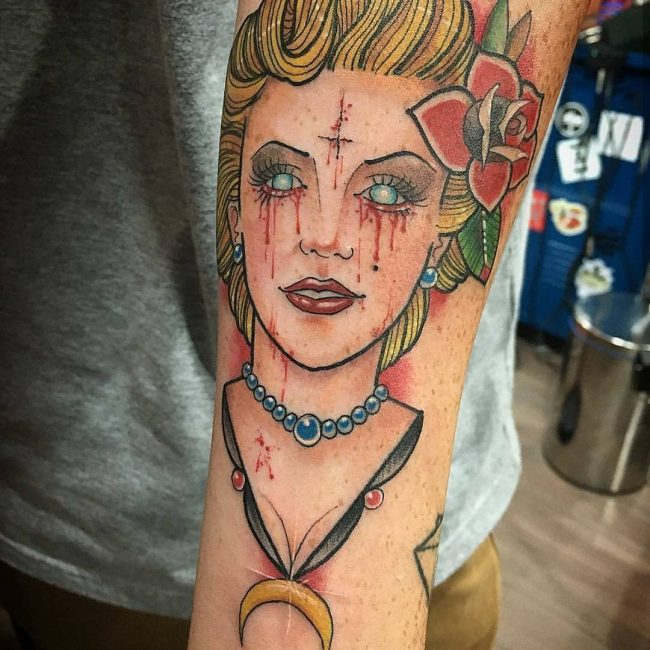 Marilyn Monroe Tattoo 55