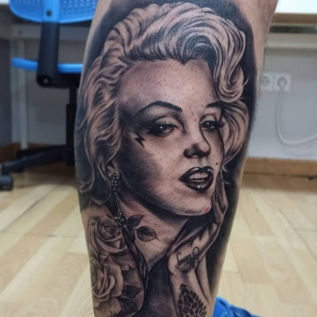 Marilyn Monroe Tattoo 56