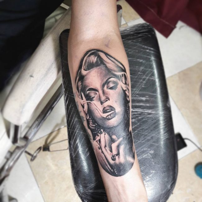 Marilyn Monroe Tattoo 59