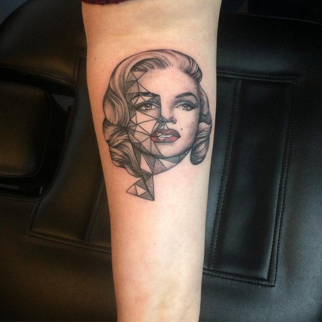 Marilyn Monroe Tattoo 60