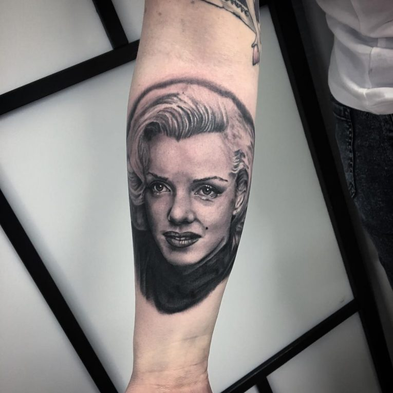 Marilyn Monroe Tattoo 61