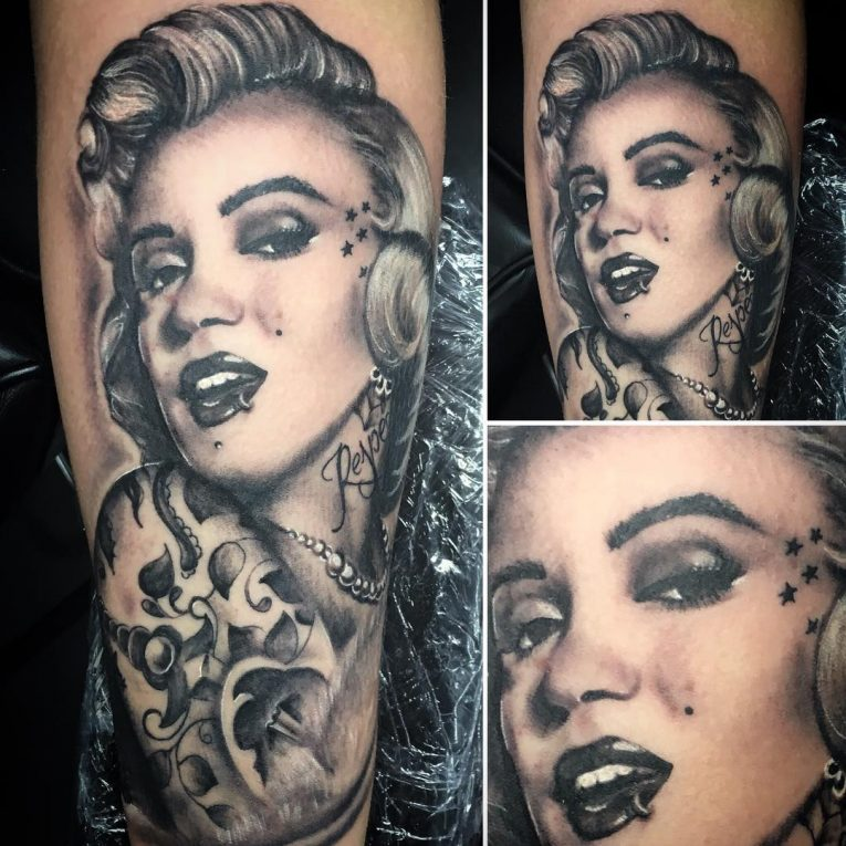 Marilyn Monroe Tattoo 63
