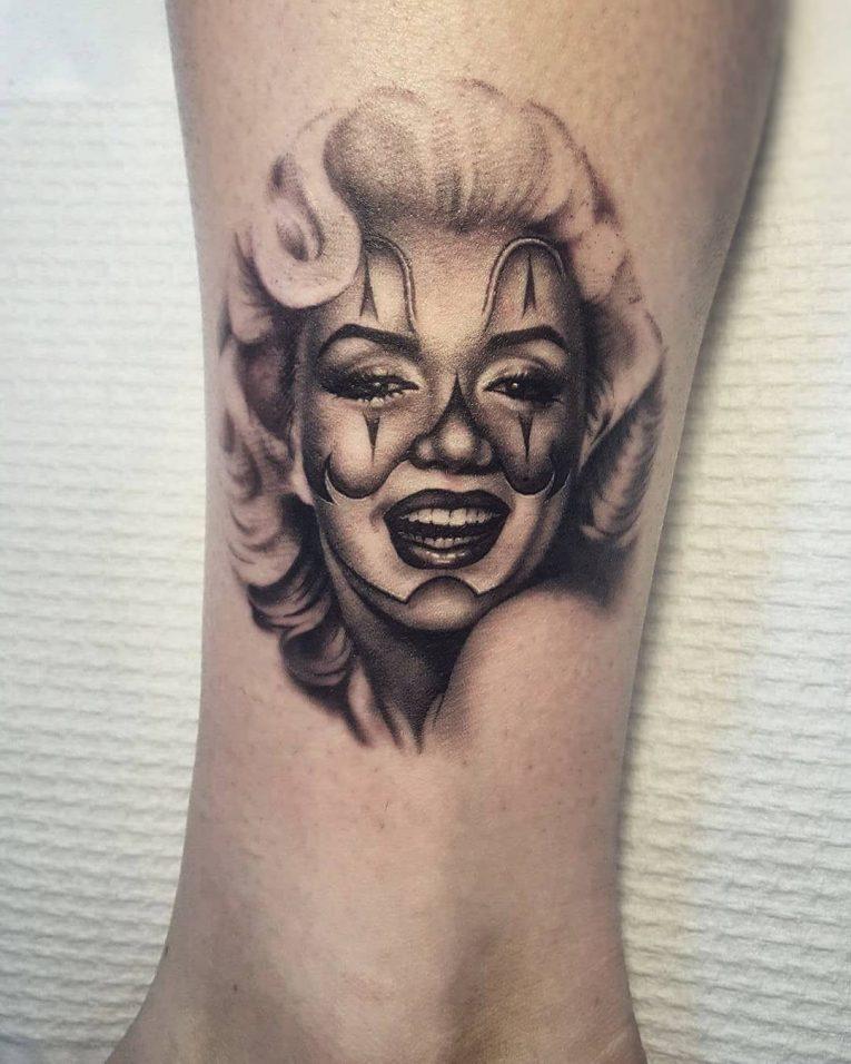 Marilyn Monroe Tattoo 64