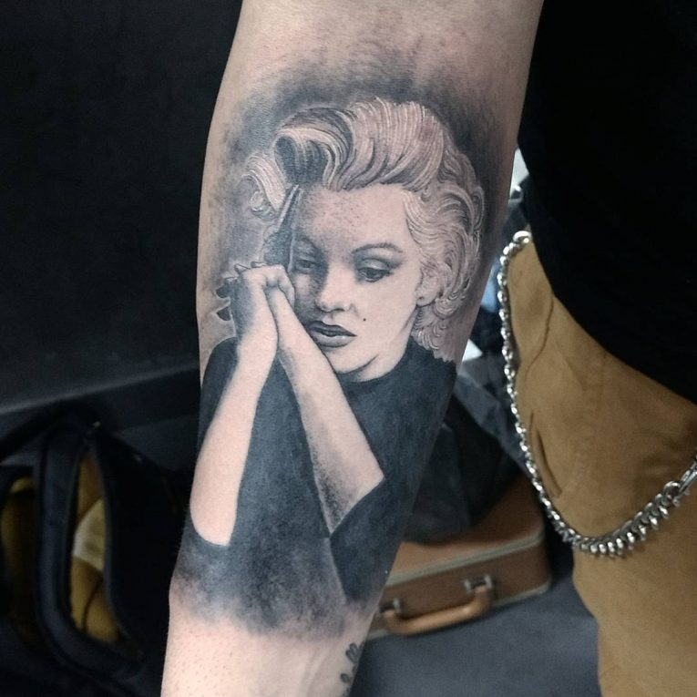 Marilyn Monroe Tattoo 65