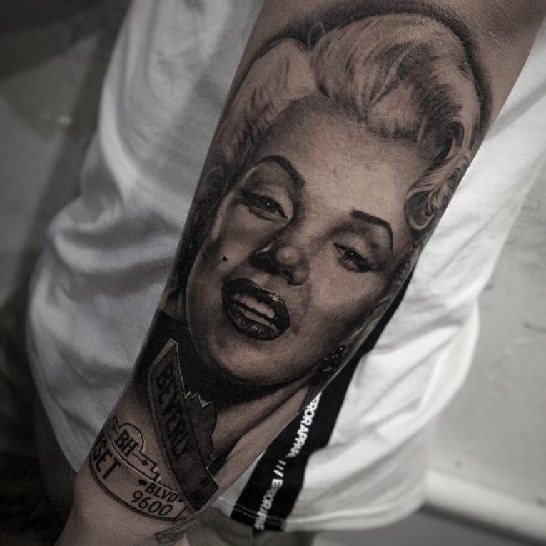 Marilyn Monroe Tattoo 66