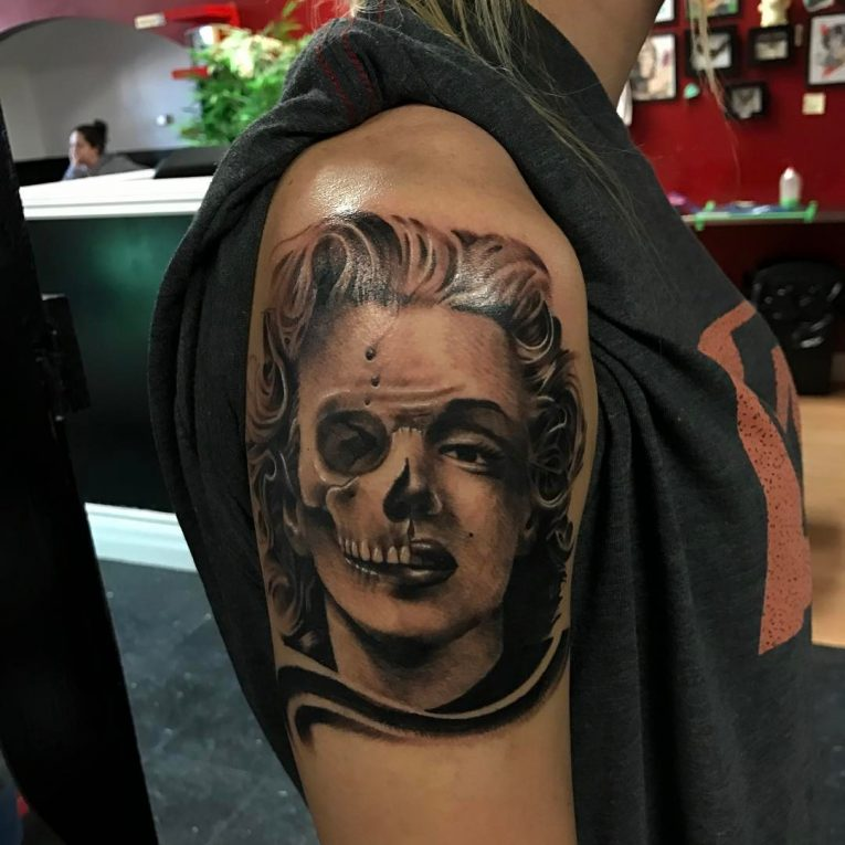 Marilyn Monroe Tattoo 67