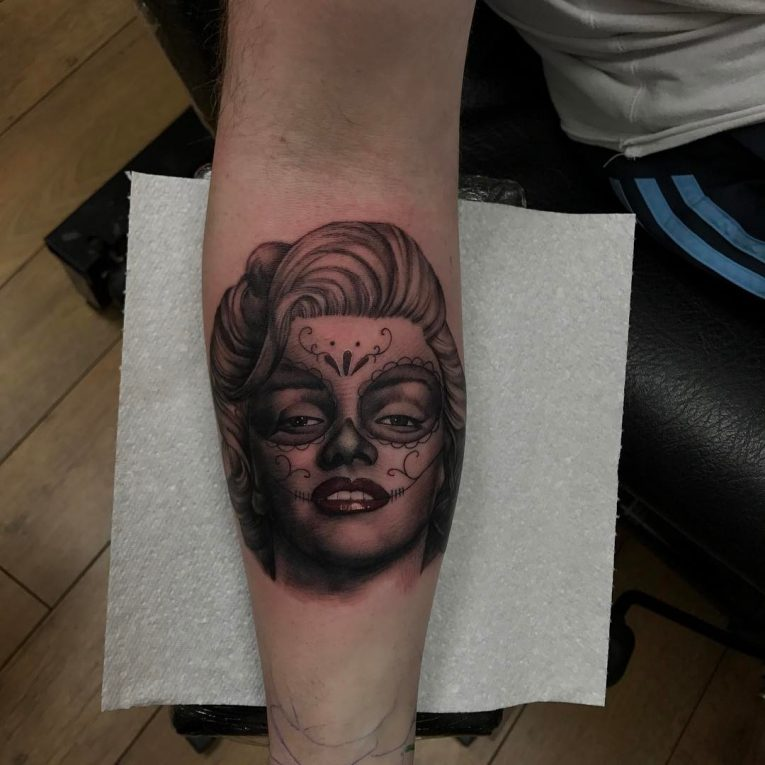 Marilyn Monroe Tattoo 68